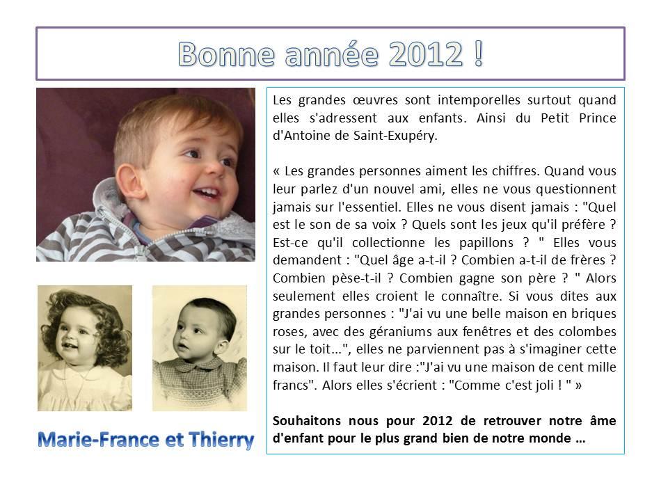 En 2012 retrouvons notre âme d'enfant pour le plus grand bien de notre monde... dans Famille Voeux-2012